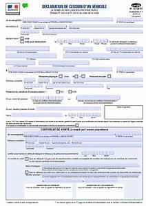Cession Voiture : certificat de cession ~ Gottalentnigeria.com Avis de Voitures