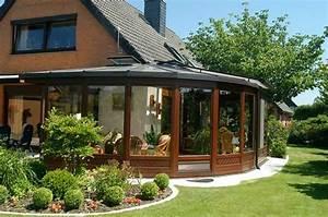 Haus Mit Wintergarten : 110 prima bilder wintergarten gestalten ~ Lizthompson.info Haus und Dekorationen