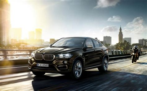 Bmw X5 2019 4k Wallpapers by Black Car 2016 Bmw X6 Highway City Wallpaper Cars