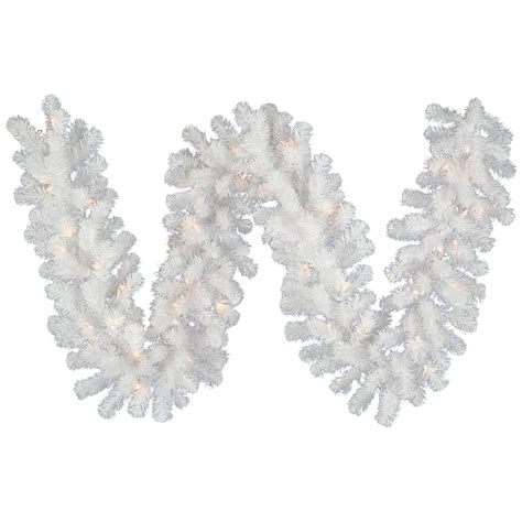 white garland vck3219