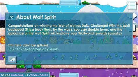 wolf spirit growtopia wiki fandom powered  wikia