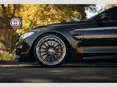 BimmerBoost Here is a black 2015 F82 M4 dropped on 20