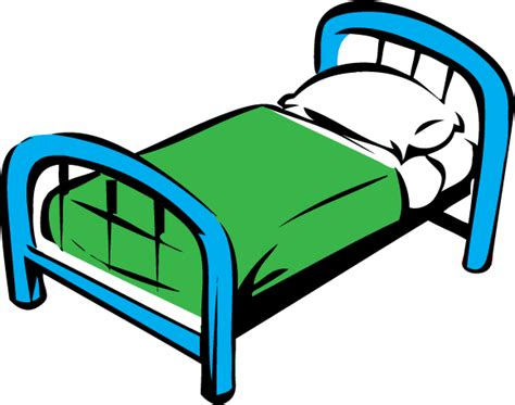 the bed comic bed image clipart best
