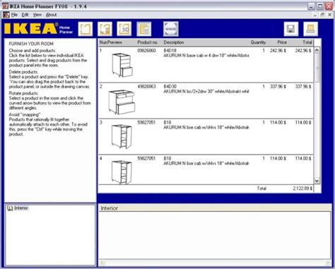 ikea home kitchen planner ダウンロード