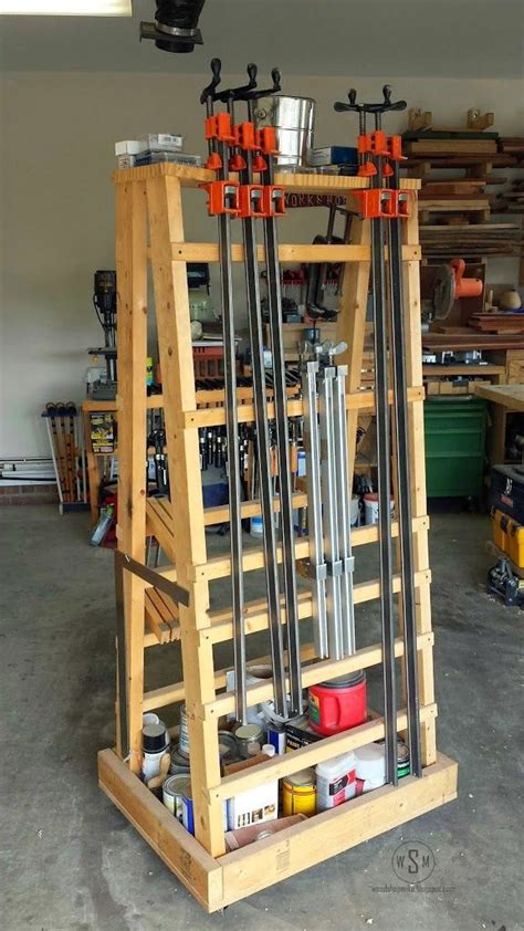 clamp rack clamp racks woodworking clamps woodworking