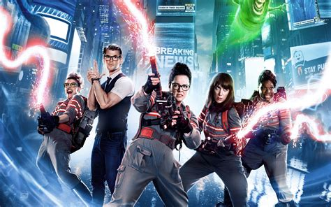 wallpaper ghostbusters  movies action comedy