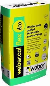 Colle Carrelage Exterieur Flex : mortier colle carrelage weber col flex ~ Nature-et-papiers.com Idées de Décoration