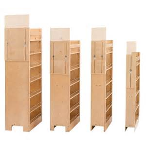 Home Depot Unfinished Cabinets Pantry by Rev A Shelf Tall Wood Pull Out Pantry With Adjustable