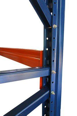 mecalux pallet racking bolted upright shelving