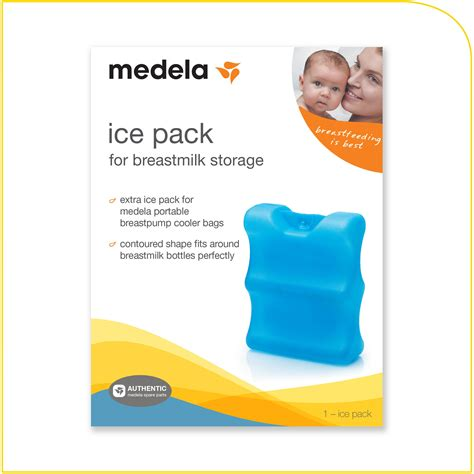 Amazoncom Medela Ice Pack For Breastmilk Storage