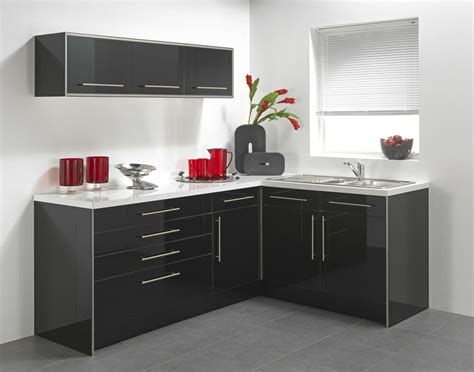 Gloss Cupboard Doors by Black High Gloss Vinyl Kitchen Cabinet Doors Ebay