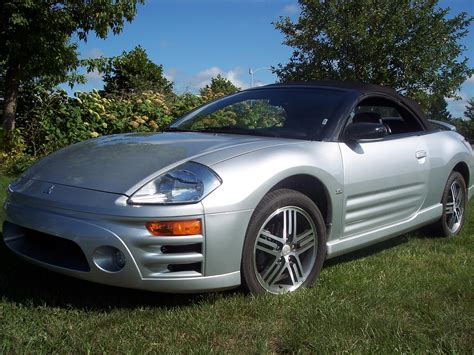 2003 Mitsubishi Eclipse by 2003 Mitsubishi Eclipse Spyder Information And Photos