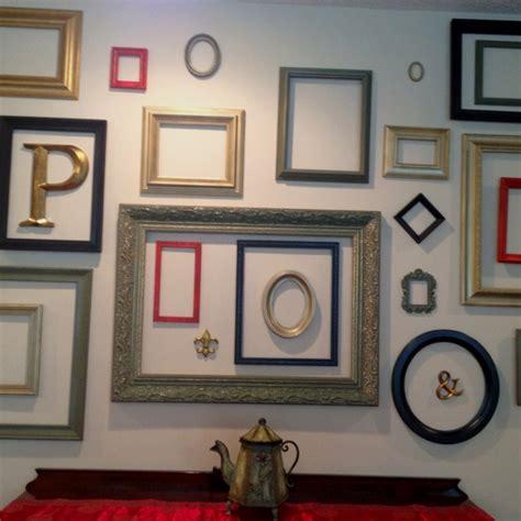 Bilderrahmen Verzieren Ideen by Use Empty Frames To Decorate Home Ultimate Home Ideas