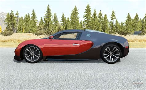 Ibishu pessima hillclimb custom v0.6.6. Bugatti Veyron 16.4 2006 для BeamNG Drive