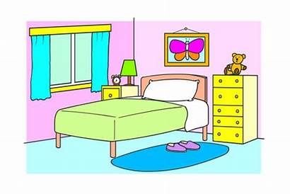 Bedroom Colouring Pages Documents Web British Colour