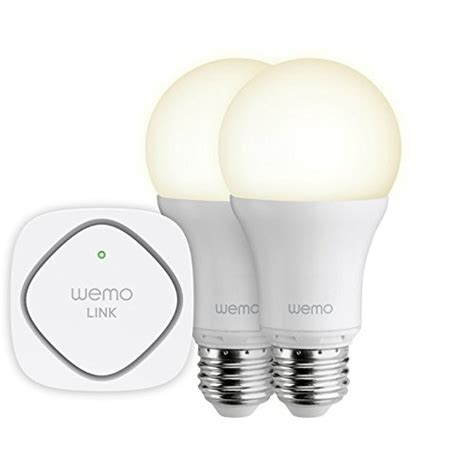 wemo led lighting starter set gift idea belkin wemo home automation accessories contest