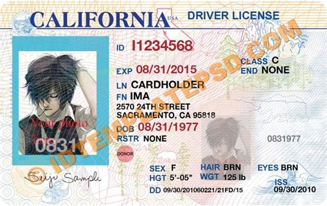 blank california driver s license template florida driver s license and make your on