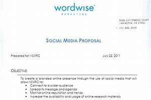 social media proposal best templates to win clients With social media rfp template