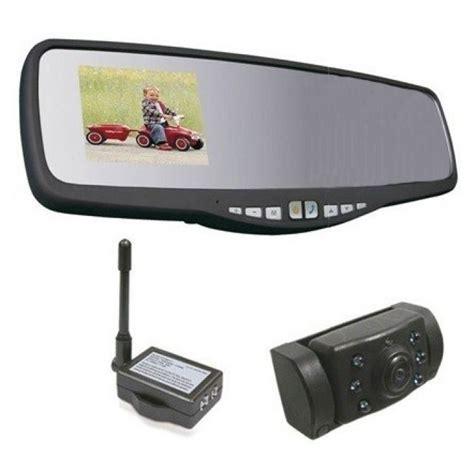 Caméra De Recul Rétroviseur Avec Bluetooth Et Kit Mains
