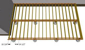 Deck Joist Spacing Calculator by Building A Deck Joist Spacing Deck Design And Ideas