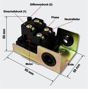 Brunnen Pumpe Hauswasserwerk : mechanische drukschakelaar voor compressor sk 5 230v pressostaat drukschakelaars ~ Frokenaadalensverden.com Haus und Dekorationen
