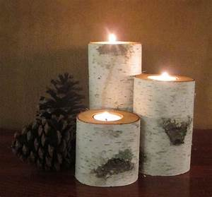 birch home decor birch fireplace logs with birch home With kitchen colors with white cabinets with yule log candle holder