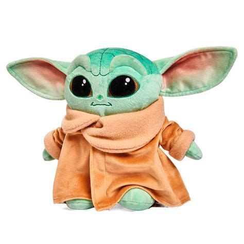 Peluche Baby Yoda Child Mandalorian Star Wars soft 25cm ...