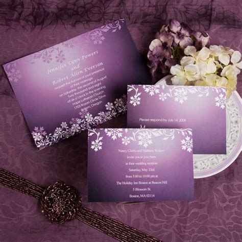 seal and send wedding invitations purple wedding invitations and wedding ideas
