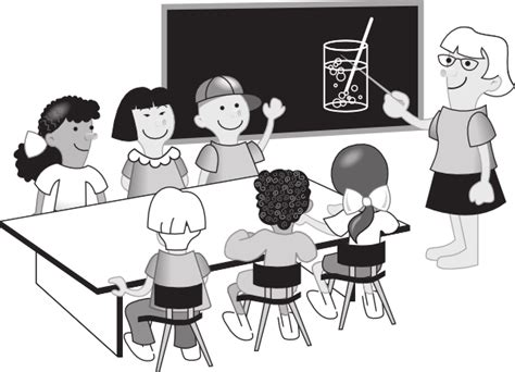 classroom clipart black and white chemistry classroom clip at clker vector