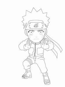 Chibi Naruto Lineart by AkatsukiSasuke1102 on DeviantArt