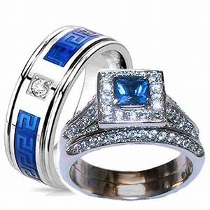 16 best polyvore images on pinterest wedding band With couples wedding ring set