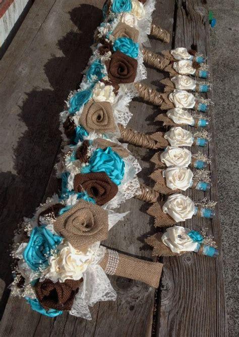 burlap wedding bouquets ideas  pinterest