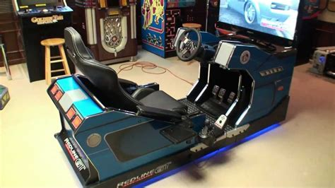gadgets bureau redline gt theater home racing flying simulator