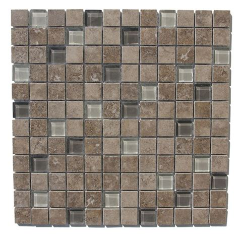 Gbi Tile And Stone Glassdoor by Shop Gbi Tile Amp Stone Inc 12 In X 12 In Capri Charcoal