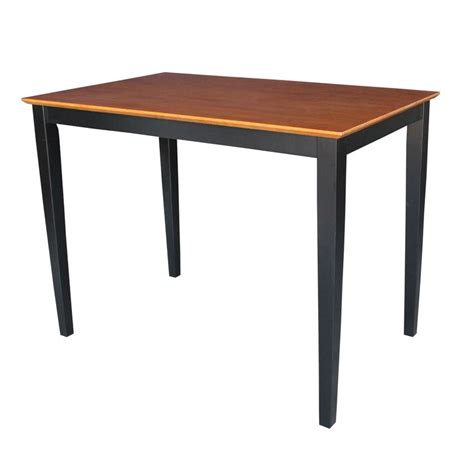 international concepts solid wood table  shaker legs