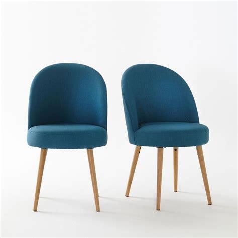 la redoute chaises de cuisine fauteuil de table lot de 2 quilda la redoute interieurs