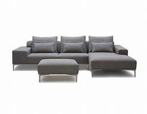 grey fabric sectional sofa with ottoman vg638 fabric With fabric sectional sofas with ottoman