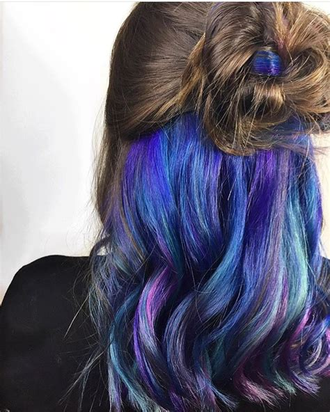 Underlights Galaxy Hair Pravana Vivids Hair By