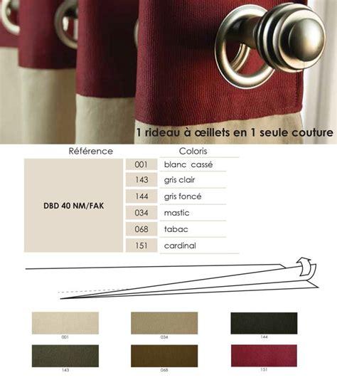 bande 224 oeillets d 233 coband rideaux 224 oeillet en une seule couture
