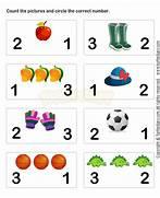 Learn Numbers Worksheet3 Math Worksheets Preschool Math Worksheets Kindergarten Addition Math Worksheets For Kindergarten Free Preschool Kindergarten Simple Math Worksheets