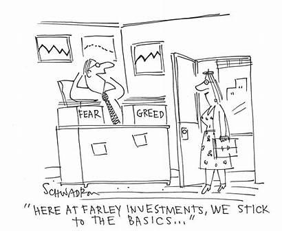 Cartoon Greed Fear Jokes Google Choices Funny