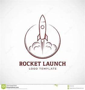 Startup Rocket Space Ship Abstract Vector Logo Stock ...
