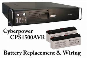 Cyberpower Cps1500avr Battery Replacement Wiring