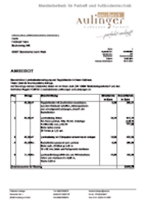 Fliesenleger Rechnung Beispiel by Optipreis Faktura Software G 252 Nstige Software Bzw