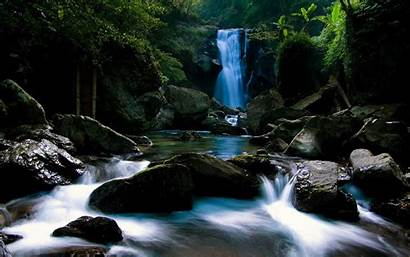 Animated 3d Screensaver Animation Waterfall Wallpapers Nature