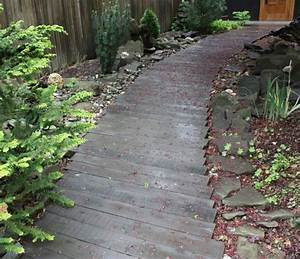 allee de jardin idees et astuces de decoration With allee de jardin en pierre
