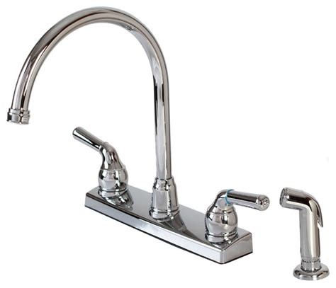 houzz kitchen faucets hardware house plastic hardware house two handle kitchen faucet chrome view in your room