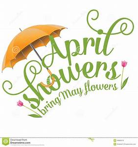 April Showers Bring May Flowers Free Clipart