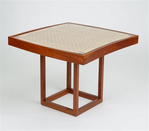 This is the outdoor coffee table that converts into a dining table for up to four people. Convertible Coffee or Dining Table by Michael van Beuren for Domus Mexico For Sale at 1stdibs