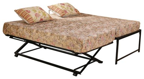 Pop Up Trundle Bed Set by Bed Set Rollout Pop Up Trundle Traditional Daybeds